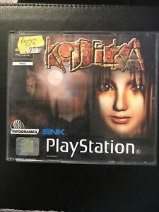 Koudelka : Jeu Rare PS1 FR Avec notice Manque CD3