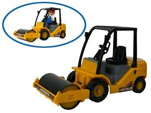 Road Roller Compactor  Construction Big-Daddy Light Duty Work Trucks Series  TOY