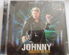 CD JOHNNY HALLYDAY STADE DE FRANCE 98  2CD NEUF SOUS BLISTER