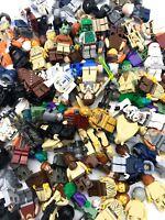LEGO LOT OF 5 RANDOM STAR WARS MINIFIGURES GRAB BAG JEDI SITH CLONE MEN FIGS MIX