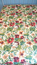 Scent-Sations Inc. QUILT COVERLET 90x92 NEW WITH TAG Bright Colorful