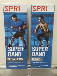 SPRI Super Band Heavy or Super Heavy Resistance Workout Band 50-75 lb Resistance