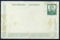 Belgio 1912 Mi. P 59 Intero postale 40% Timbrato Antwerpen, 30 C,