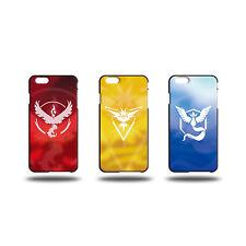 POKEMON GO Team Valor Mystic Instinct Phone Case Cover For iPhone 5/5S 6 6S Plus