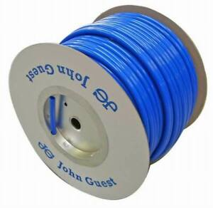 John Guest 12mm OD Push-Fit Semi-Rigid Water Pipe - BLUE - Sold by the metre