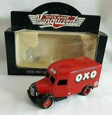 LLEDO DAYS GONE VANGUARDS 1950 30CWT BEDFORD DELIVERY VAN OXO CUBE DIECAST BOXED