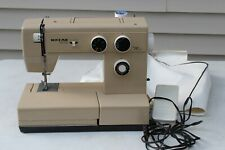VTG Beige Riccar 3400 SUPER STRETCH Sewing Machine with Pedal Made in Taiwan