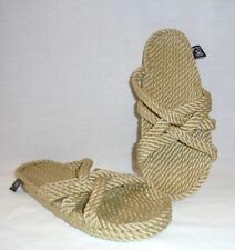 Nomadic State of Mind Women's Tan Slip On Rope Sandals Retail $48 size 10