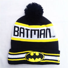 Mens Hip Hop Knitted Knit Hat Beanie Hats Baggy Winter Ski BATMAN Cap Slouch Hat