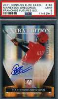 Didi Gregorious PSA DNA Coa Autograph 2011 Donruss Elite Rookie Hand Signed