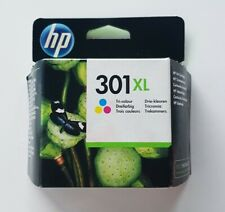 Genuine HP 301XL Ink Cartridge, Tricolour