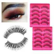 5 Pairs/Set False Eyelashes Long Thick Natural Fake Eye Lashes Set Mink·MakeUp