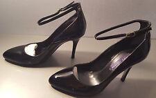 Ralph Lauren Collection Ashton Black Patent Leather Pump Size 7.5b/38b Italy