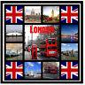 Londres - RECUERDO Original Cuadrado Imán de NEVERA - MONUMENTOS/Regalos/