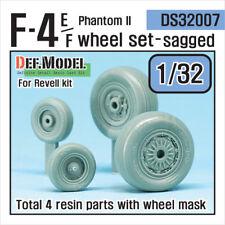 Def. modelo, DS32007, F-4E/F Phantom II juego de ruedas (para Revell), 1:32