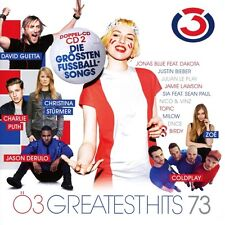 Ö3 GREATEST HITS VOL.73  2 CD NEU QUEEN/XAVIER NAIDOO/EUROPE/COLDPLAY/+