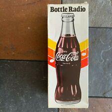 COCA-COLA BOTTLE RADIO IN BOX ITEM #3447-20