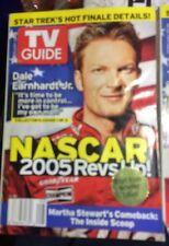 3 TV Guides Collectors NASCAR Set Feb 20-26 2005•Earnhart•Johnson•Gordon