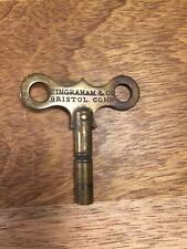 Old Authentic Stamped Ingraham Clock Key Size 3.75mm/ #6  Key Lot M702