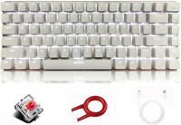 Mechanical Keyboard AK33 Anti-Ghosting Backlit 82 key Gaming Keyboard for Gamers
