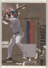2004 Donruss Leather & Lumber Materials Jerseys /250 Manny Ramirez #26