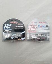 2004 Ryan Newman #12 Alltel / Mobil 1 Dodge 2002 Ford Team Caliber 1/64 Lot of 2