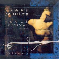 KLAUS SCHULZE Royal Festival Hall Vol 1 CD UK PROG Berlin School Tangerine Dream