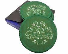 Untersetzer 6er Set von Bullets Playing Cards - Pokertischauflage, Pokerauflage