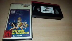Drei Engel auf der Todesinsel (Lost Empire) Constantin Erstauflage   VHS - ab 18
