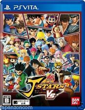 Used PS Vita J-Stars Victory Vs SONY PLAYSTATION JAPANESE IMPORT