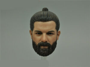 "1:6 Scale 26038S SAD Special Ver. HALO Head Sculpt Carved F 12"" Male Figure Body"
