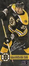 Zdeno Chara Boston Bruins Signed Autographed 2012-2013 Season Ticket Renewal ID