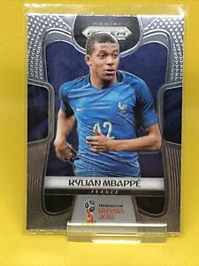 2018 PANINI PRIZM #80 KYLIAN MBAPPE RC FRANCE WORLD CUP PSG ROOKIE CARD! HOT!