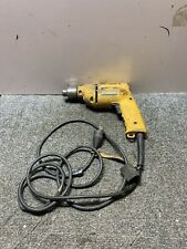 "Used DeWalt DW100 Corded VSR Drill 3/8"" Chuck, 5.4 Amp, 0-2500 RPM *Tested*"