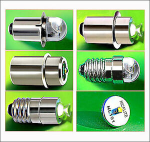 NICELITE LED LIGHT BULBS BICYCLE CYCLE LAMPS FLASHLIGHTS TORCHES MAGLITE CREE