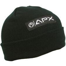 DRAGON ALLIANCE OPTICS MEN'S APX BASIC CUFF BEANIE BLACK SKI SNOWBOARD, NEW!
