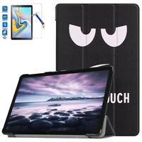 Smart Case Cover for Samsung Galaxy Tab A2 10.5 SM-T590 & Glass Screen Protector