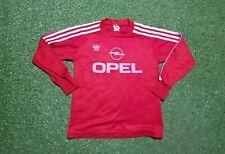 FC Bayern München Trikot XS 1989 1990 Adidas Munich Football Shirt  jersey Opel