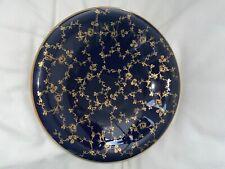 LINDNER Kueps Bavaria Porzellan Echt Cobalt Rosengold Schale Kobaltblau/Gold 28
