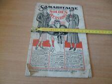 CATALOGUE DE MODE  A LA SAMARITAINE ANNEE ? SOLDES ET OCCASIONS 28 PAGES