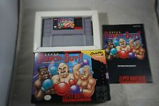 Super Punch Out (Super Nintendo SNES) Complete in Box GREAT