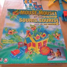 1994 PLAYTOY MOUSE GET OUTTA MY HOUSE SOURIS SORS DE MA MAISON GAME JEU