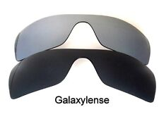 Galaxy Replacement Lenses for Oakley Batwolf Black&Titanium Polarized 2 PAIRS