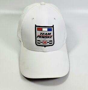 Puma Team Penske 50 Year Racing Hat  White Cap