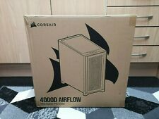 More details for corsair 4000d airflow tempered glass mid-tower atx case - black