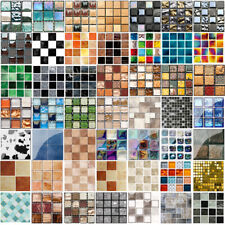 Kitchen Tile Stickers Bathroom 3D Mosaic Sticker Self-adhesive Wall Decor UK