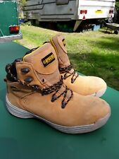 Work boots.Safety footwear by Apache.size 10.Worn only one hour.UK  Postage free