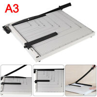 Heavy Duty A3A4 Photo Paper Cutter Guillotine HomeOffice Tool Card Trimmer Ruler