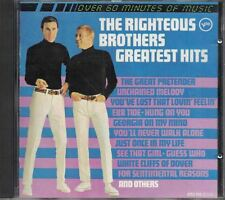Greatest Hits The Righteous Brothers Music CD Verve Best of 1988 Polygram