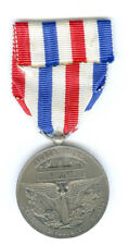 MEDAL OF HONOUR AERONAUTIQUE, SILVER, NAMED TO G. VALET 1974 (FRANCE)